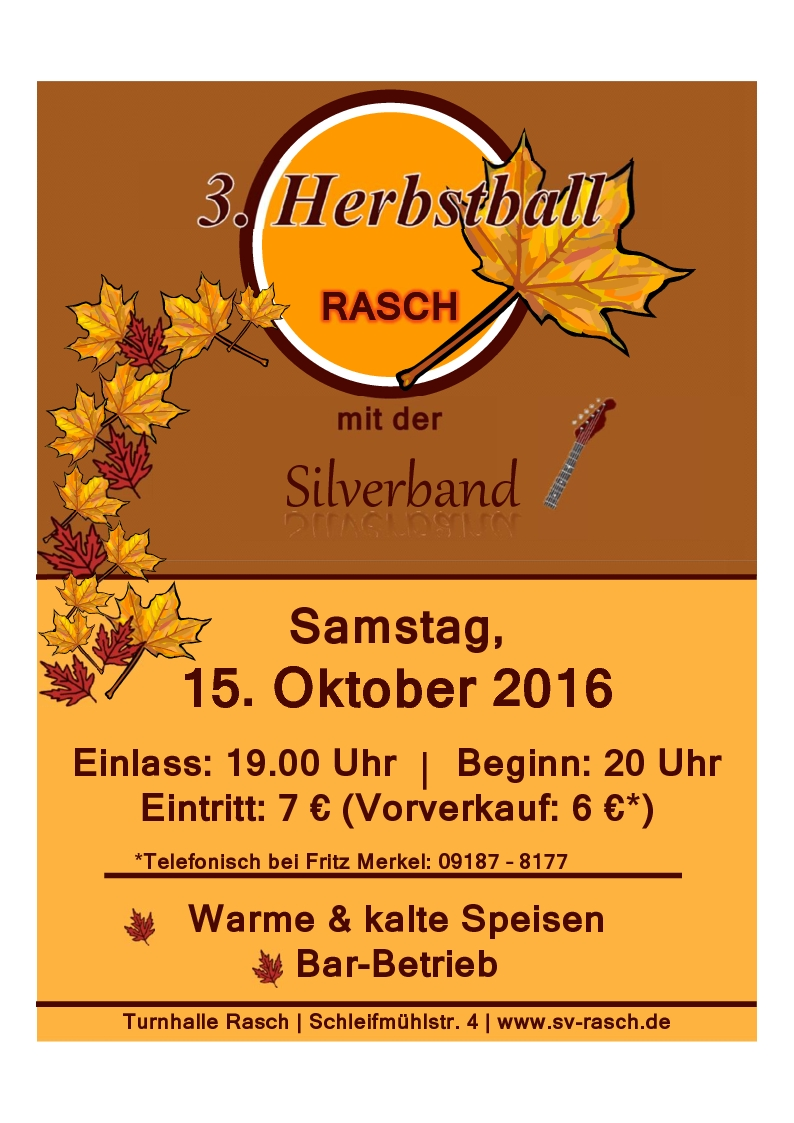 Herbstball 2016